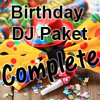 Birtday DJ Paket Complete